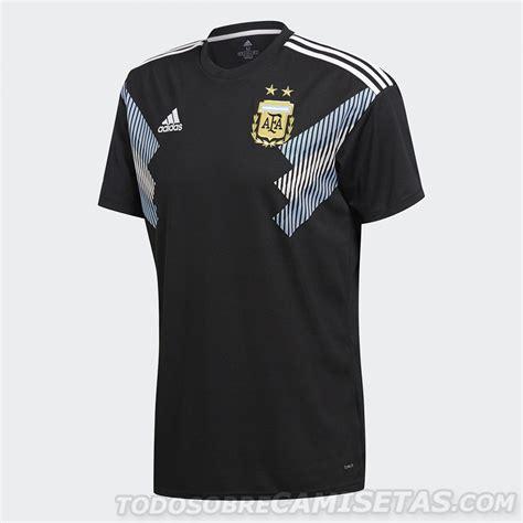 nueva camiseta negra argentina mundial 2018 deportes
