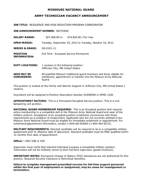 Army National Guard Cover Letter by 88 Missouri Service Letter Missouri Supreme Court Ordering The Trial To Certify