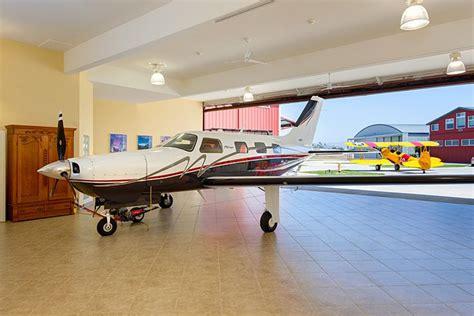 Airplane Garage by Attached Aircraft Hangar The Aeroloft
