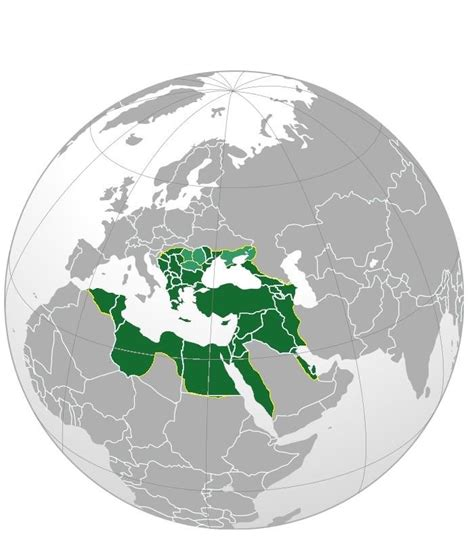 map of ottoman empire at its peak countries at its territorial peak maps