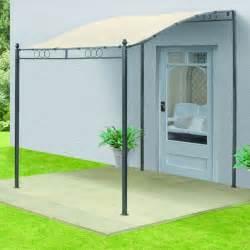 Wall Gazebo Awning 3m X 3m Outdoor Garden Wall Gazebo Cover Porch Awning