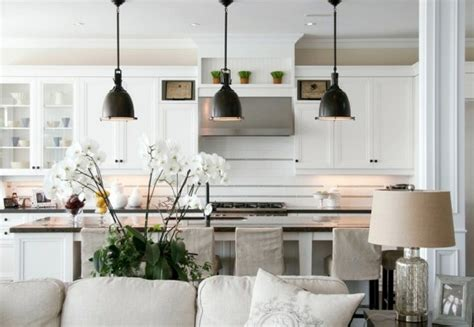 Kitchen Islands Ideas Layout adding pendants