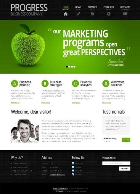 Simple Website Template Design Beepmunk Simple Website Design Template