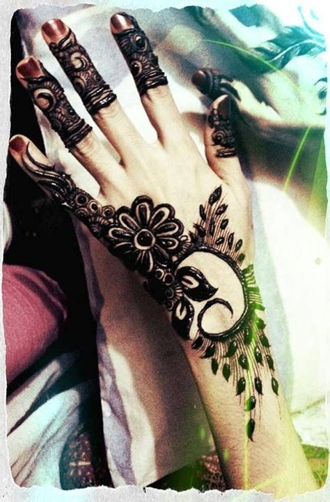 simple mehndi designs for girls 0015 life n fashion