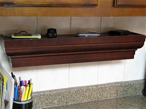 Charging Shelf Station by Ledge Shelf 10 Nifty Diy Charging Stations Lifestyle