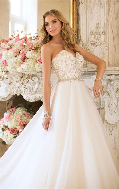 and extravagant stella york wedding dresses 2014