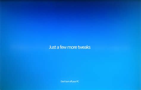 Just A Few More by Windows 10 And Its User Experience