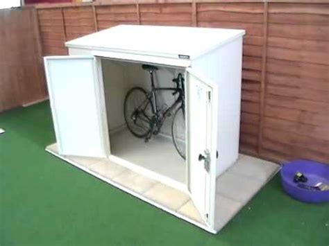 Outdoor Sheds Plans by Bicycle Sheds Storage Outdoor Youtube