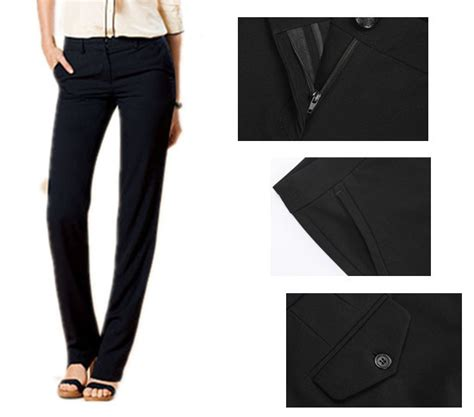 comfortable dress pants aliexpress com buy new brand america women s flat front