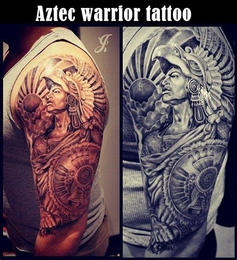 warrior tattoo designs for men 40 aztec designs for and
