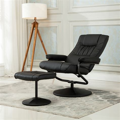 swivel recliner armchair recliner chair swivel armchair lounge seat w footrest