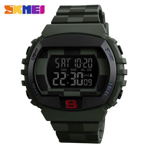 Skmei Jam Tangan Digital Sporty Pria 1286 skmei jam tangan digital sporty pria 1304 army green jakartanotebook