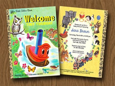 springtime babies golden book books golden books inspired baby shower or birthday
