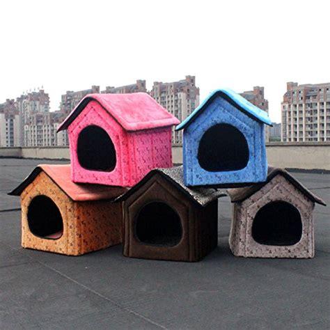 soft dog house large pet dog house large dog bed cat bed pet nest dog kennel soft blue two size