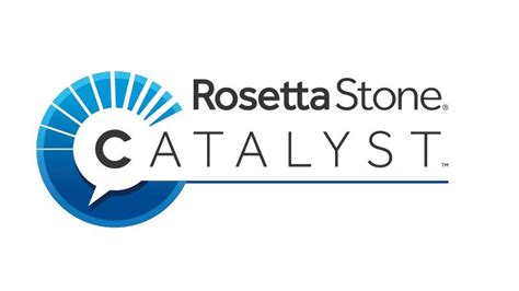rosetta stone logo rosetta stone catalyst review rating pcmag com