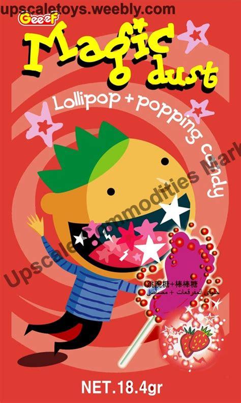 Magic Pop Stroberi popping candies upscale commodities marketing