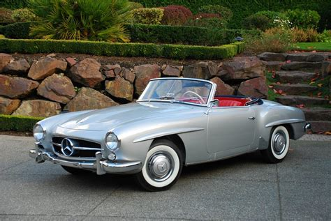 classic mercedes convertible 1959 mercedes benz 190sl convertible 45337