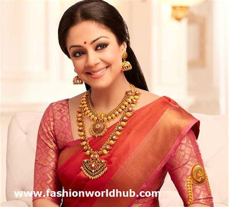 Jyothika in Kanjeevaram saree   Fashionworldhub