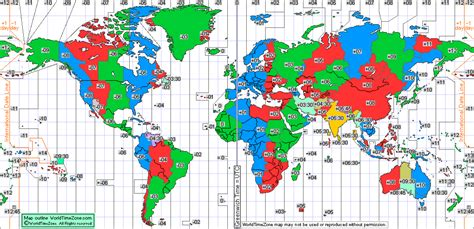time zone map world standard time zone chart of the world from world time zone corrected on august 2015