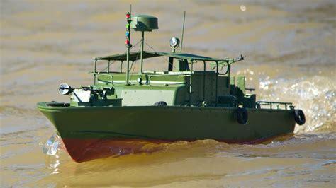 model in boat testing the proboat models alpha patrol boat tested