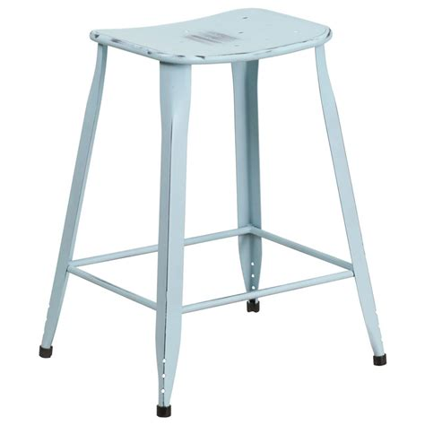 light blue bar stools premier distressed blue counter stool eurway modern