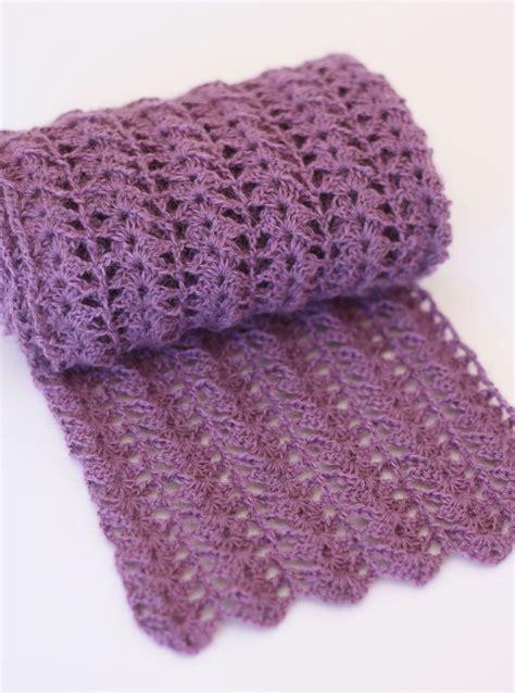 free pattern crochet scarf free easy crochet patterns