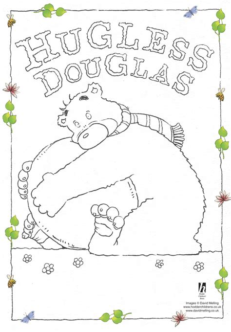 coloring book giveaway hugless douglas colouring scholastic club