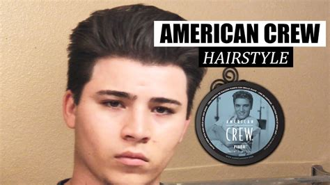 how to style your hair with crew fiber how to style your hair l american crew fiber l men s hair