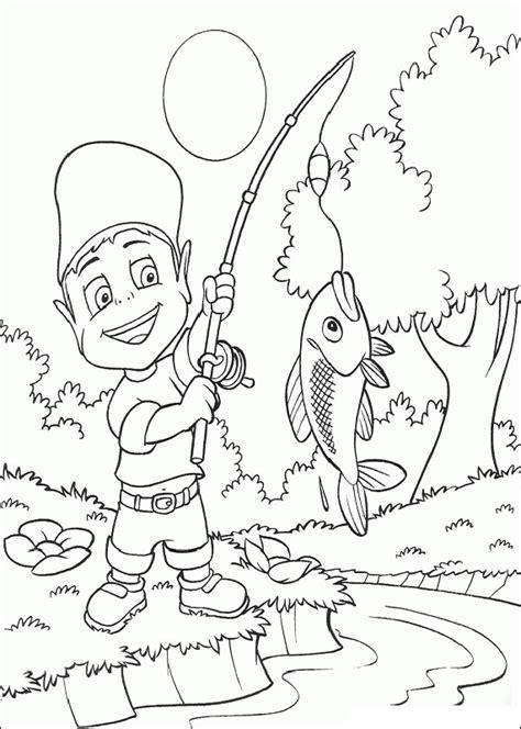 swedish fish coloring page desenho de pesca maravilhosa para colorir tudodesenhos