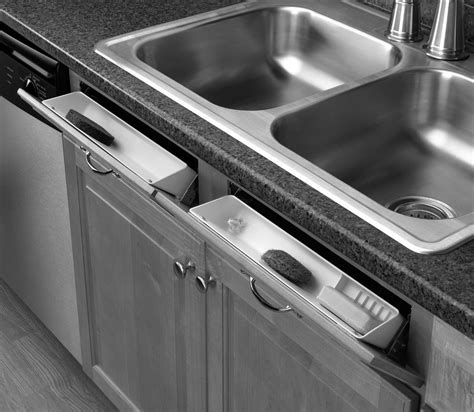 Sink Front Tip Out Trays   Cabinet Joint