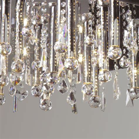 crystal wall mount lighting brizzo lighting stores 18 quot miraggio modern crystal flush