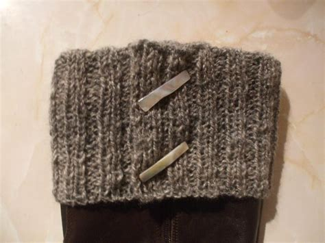 you have see knitted boot topper boot cuff on craftsy