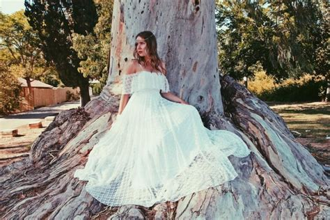 Vintage Hippie Wedding Dresses by Bohemian Wedding Dress Simple Lace Wedding Dress Hippie