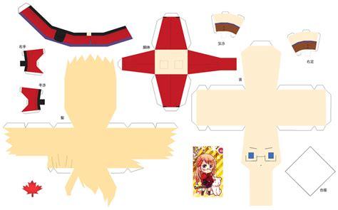 Hetalia Papercrafts - hetalia papercraft 2p fem canada by sumatradjvero on
