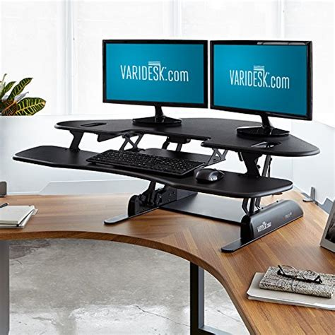 adjustable standing desk amazon varidesk height adjustable standing desk for cubicles