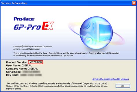 ex 4 version supporting for microsoft windows 174 7 gp pro ex ver 2 7