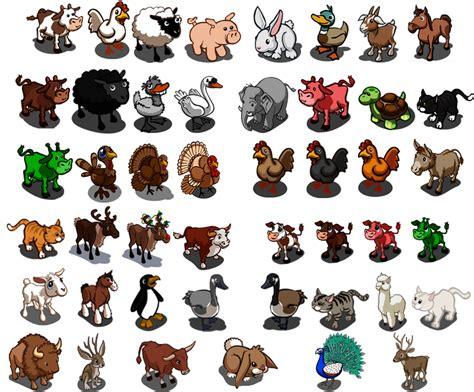 animali da cortile elenco tutti gli animali di farmville