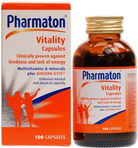 Vitamin Pharmaton Pharmaton 100 S Vitamin Fight Daily Fatigue Wth Ginseng Ebay