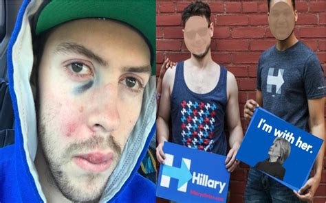 milo s dangerous surges to man savagely beaten after telling hillary supporters he
