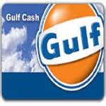 Gulf Gas Card Gift - auto card balances and credits