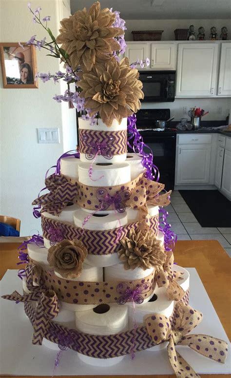 torte aus toilettenpapier selber machen torte anders