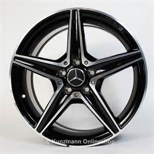 amg 18 inch alloy wheel set mercedes c class w205