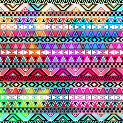 girly aztec wallpaper purple pink neon bright andes abstract aztec pattern art