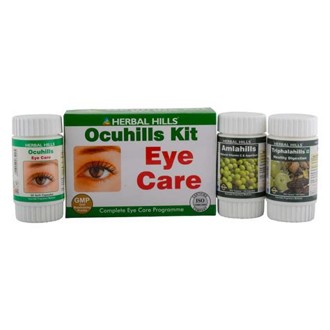 Eye Care Herbal Tech 1 ayurvedic eye care ocuhills kit eye treatment herbalhills