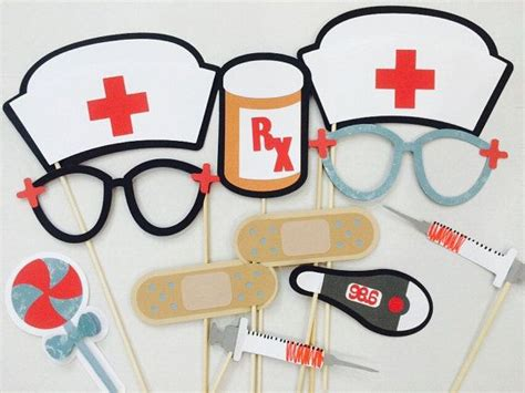 printable nurse photo booth props 15 best images about photo booth on pinterest photo