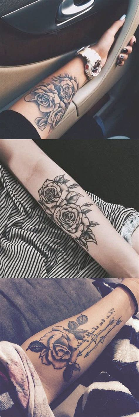 tattoo design editor black forearm ideas girly realistic floral
