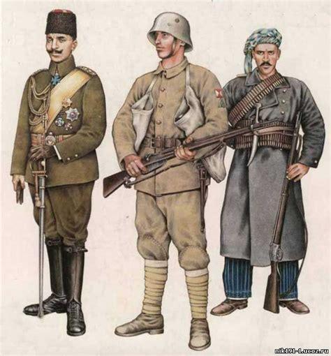 Soldat Ottoman by Ottoman Officer Turkish Soldier And Kurdish Irregular