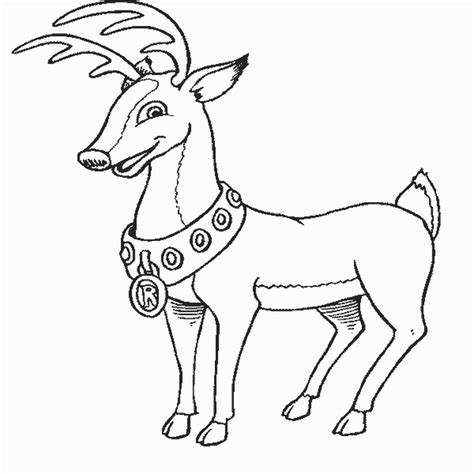 coloring page rudolph reindeer 11 rudolph reindeer coloring pages gt gt disney coloring pages