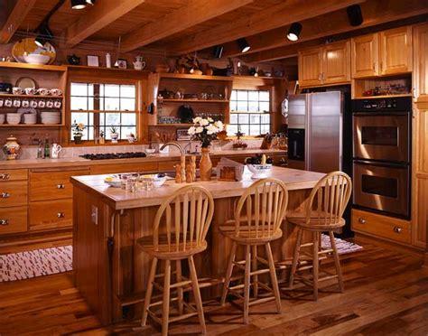 Amish Furniture Kitchen Island photos of a south carolina log home coming home again