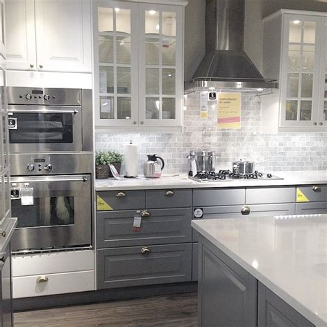 Ikea Grey Kitchen Cabinets by 25 Best Ideas About Ikea Kitchen On White